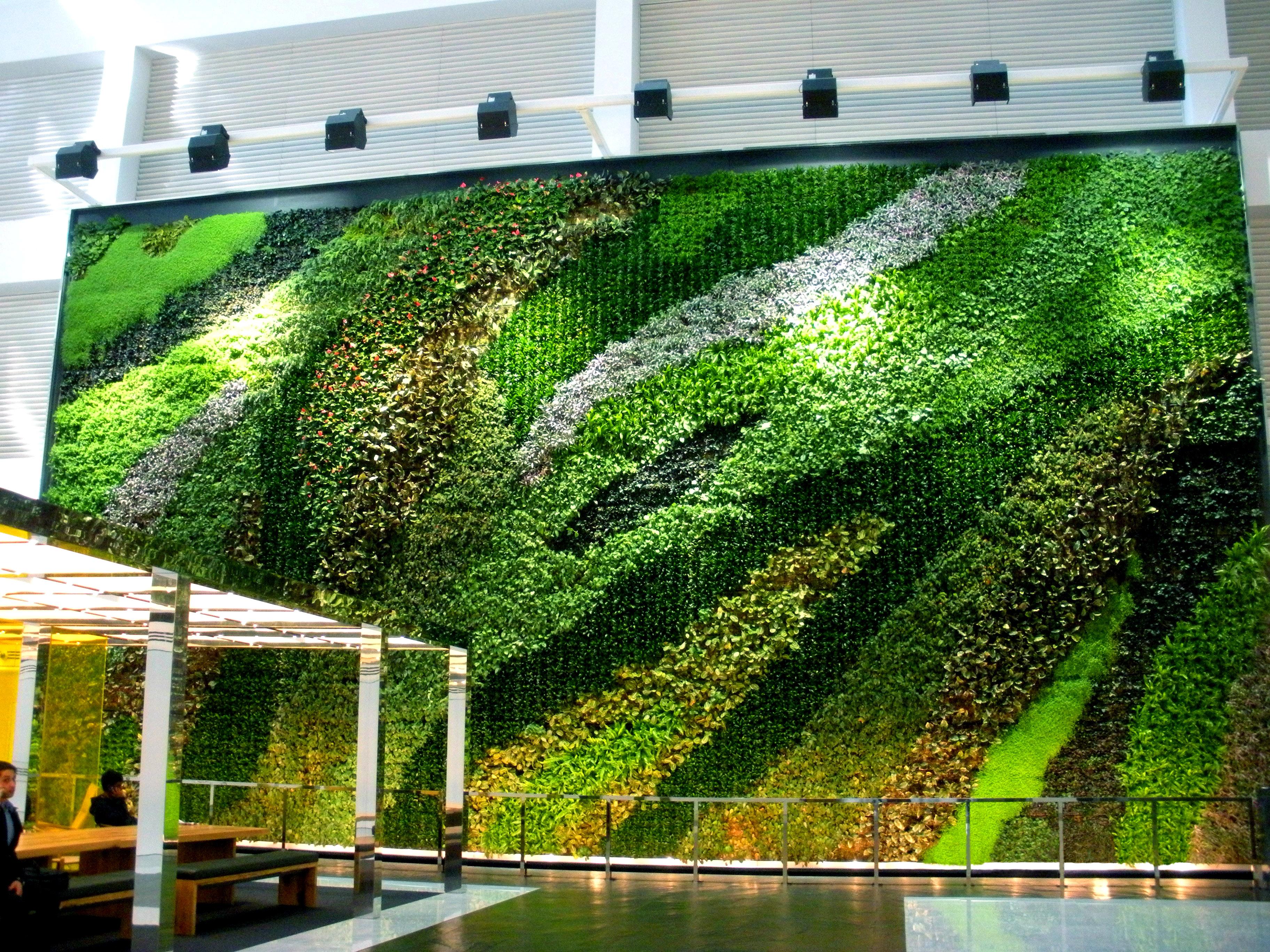 Superior 23 Story Atrium G O2 Living Wall | NYC
